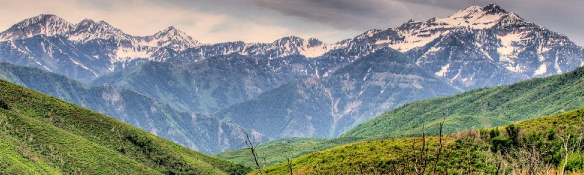 Jordanelle Reservoir, Heber City, Utah, Vereinigte Staaten