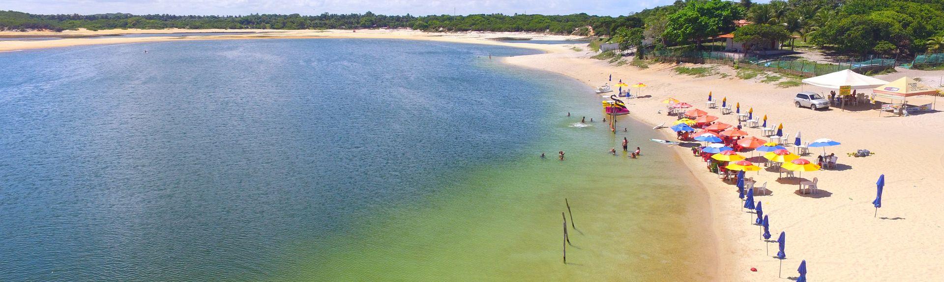 Praia de Genipabú, Extremoz, Rio Grande do Norte, Brasil