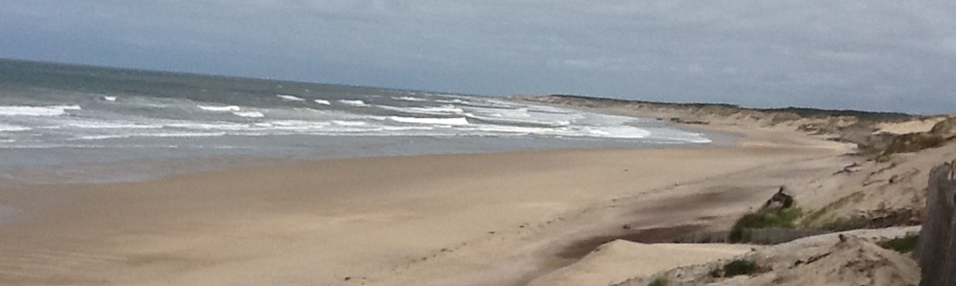 Hourtin Beach, Hourtin, Nouvelle-Aquitaine, France