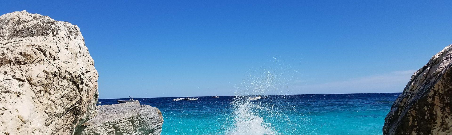 Spiaggia di La Caletta, Siniscola, Sardegna, Italia