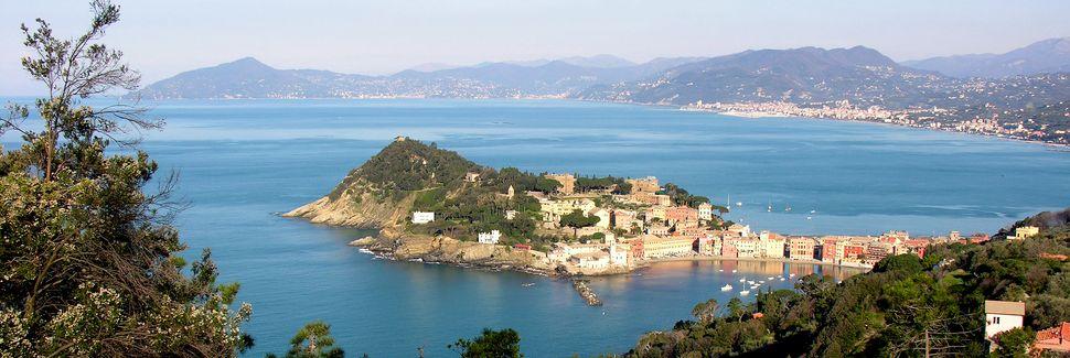 Playa de Lavagna, Lavagna, Liguria, Italia