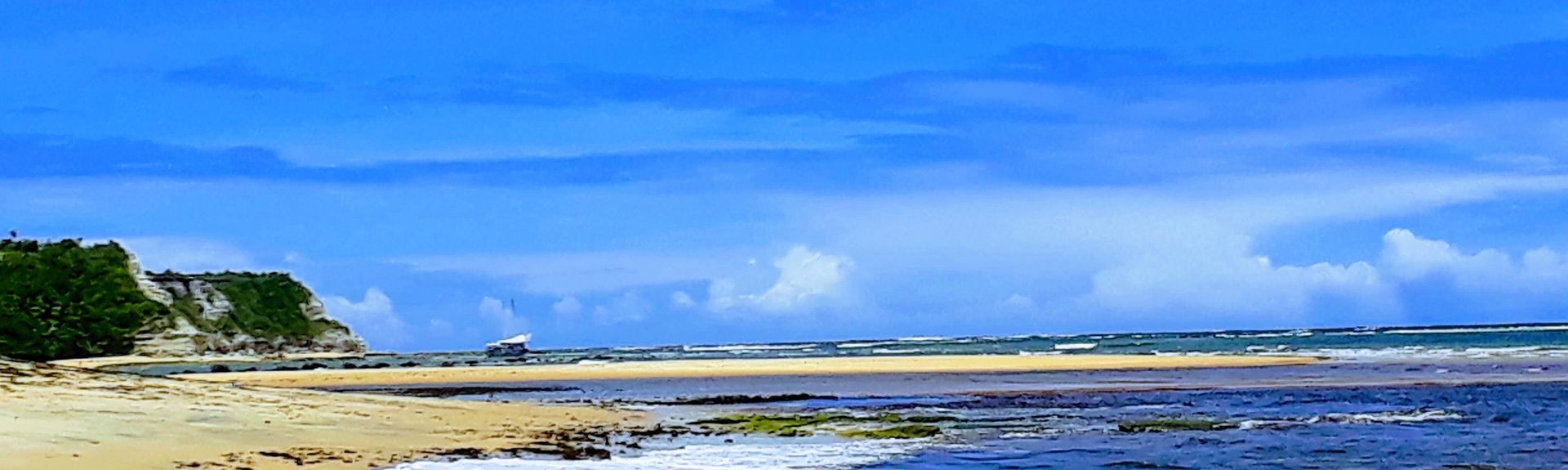 Παραλία Pitinga, Πόρτο Σεγκούρο, Βορειοανατολική Περιοχή, Βραζιλία