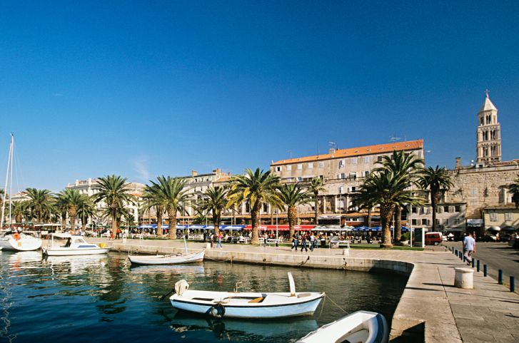 Split, Split-Dalmatië, Kroatië