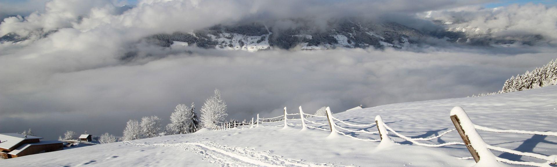 Palácio de Gelo da Natureza, Finkenberg, Tyrol, Áustria