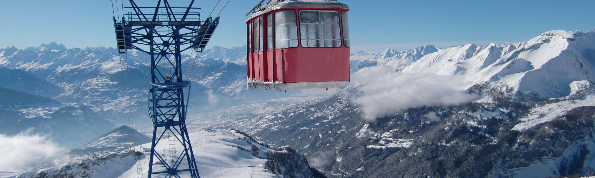 Crans-Montana, Wallis, Zwitserland