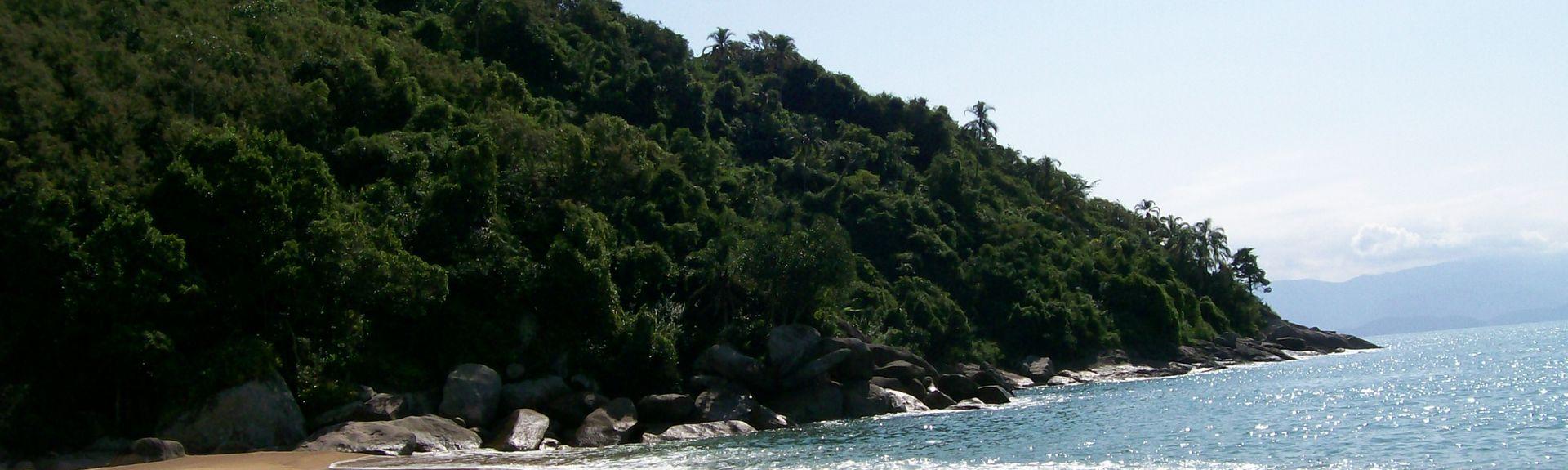 Plaża Pinto, Ilhabela, Region Południowo-wschodni, Brazylia