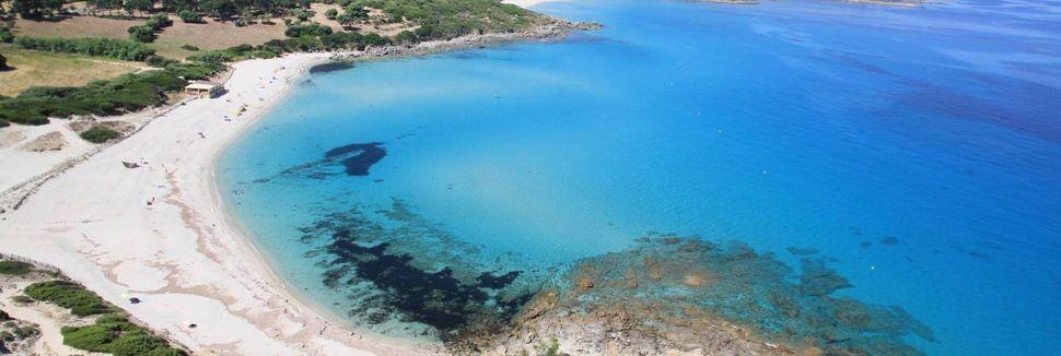 Spiaggia di Calvi, Calvi, Corsica, Francia