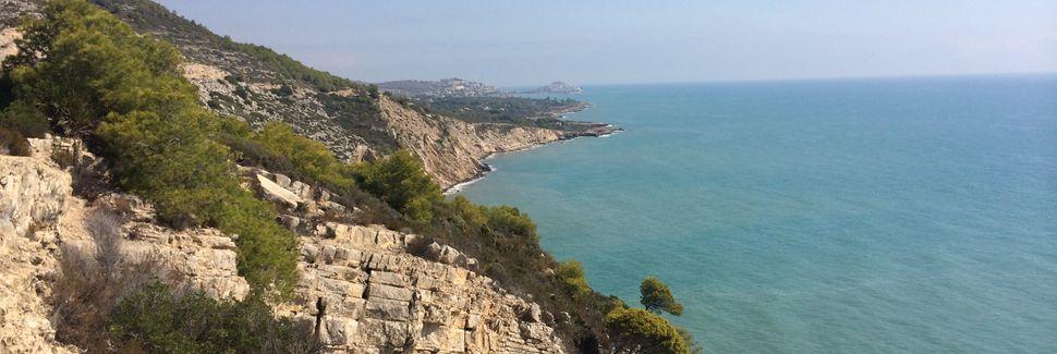 Playa La Concha, Oropesa del Mar, Comunidad Valenciana, España