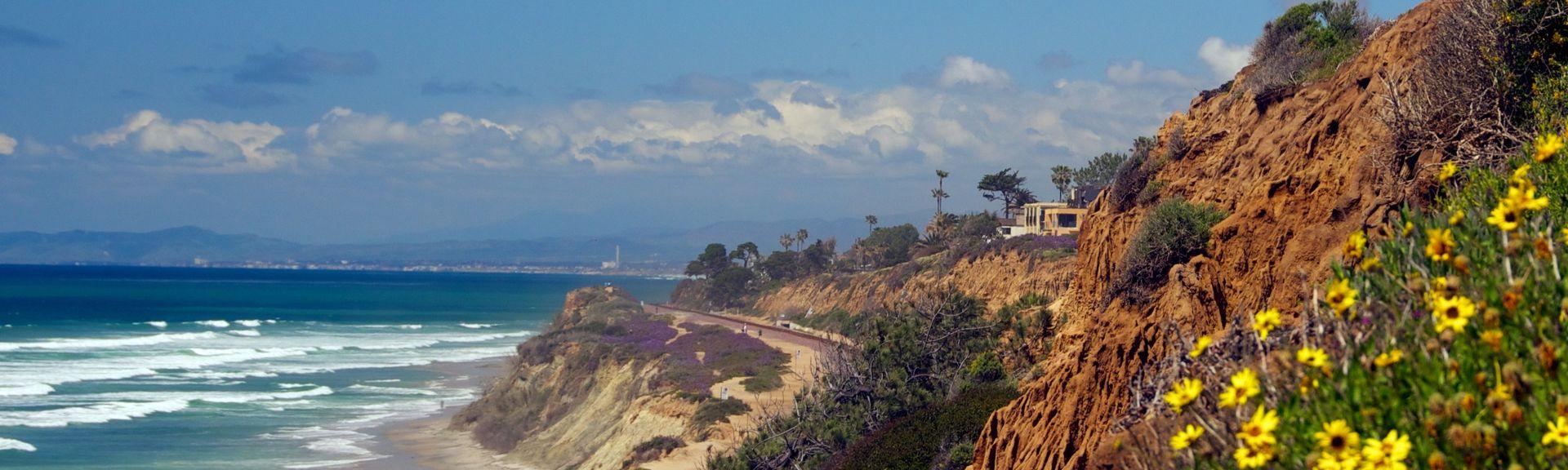 Del Mar-stranden, Del Mar, California, USA