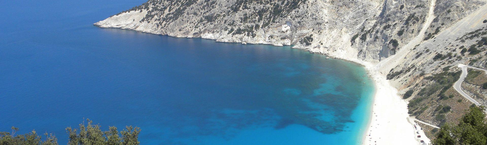 Myrtos Beach, Kefalonia, Ionian Islands Region, Greece