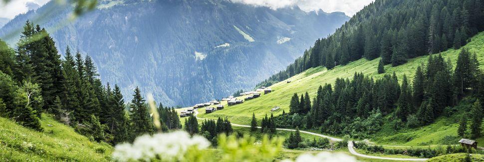 Silvretta Montafon Bergbahnen, Sankt Gallenkirch, Vorarlberg, Österreich