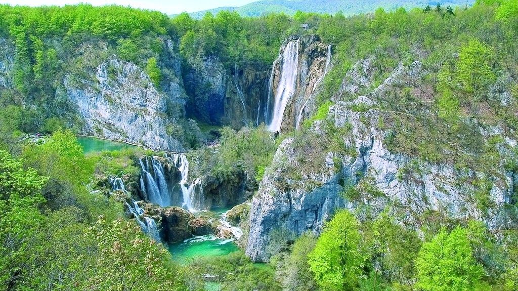 Plitvice Lakes National Park, Plitvički Ljeskovac, Lika-Senj County, Croácia