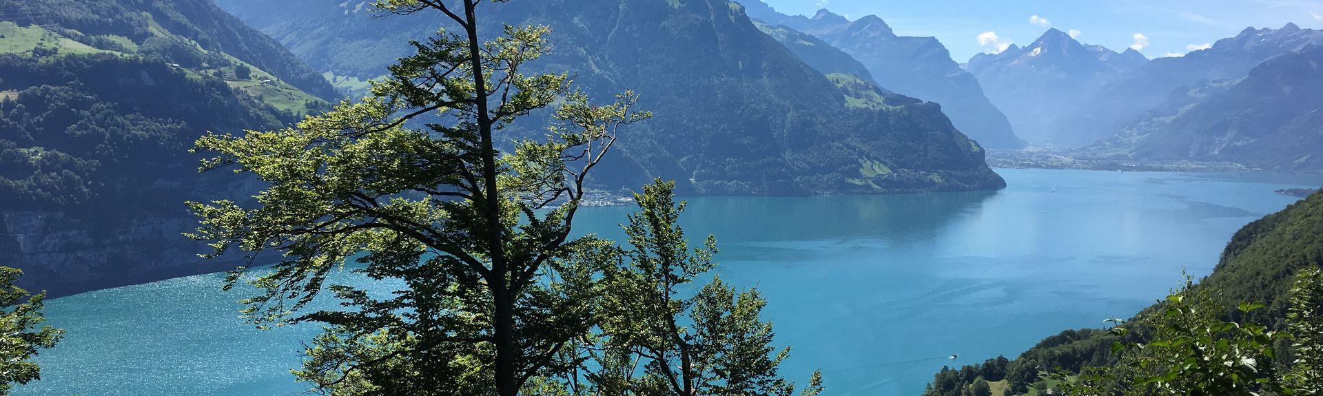 Cheselen Ski Lift, Kerns, Switzerland