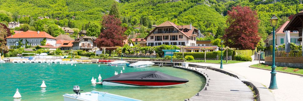 Talloires-Montmin, Auvernia-Ródano-Alpes, Francia