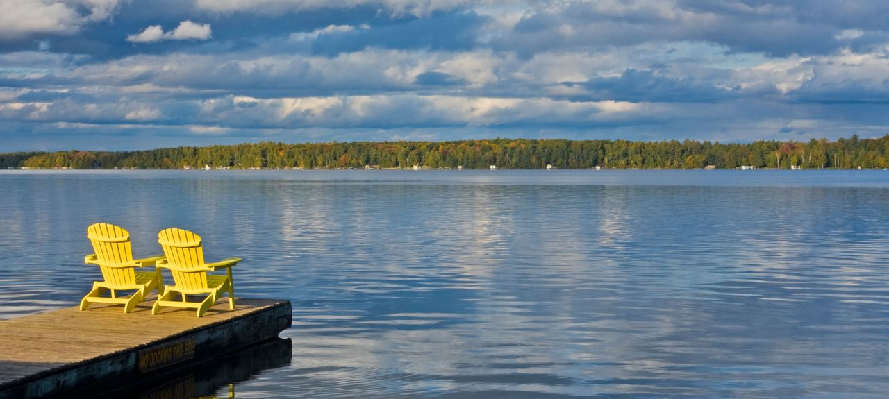 Balsam Lake, Kawartha Lakes, ON, Canada