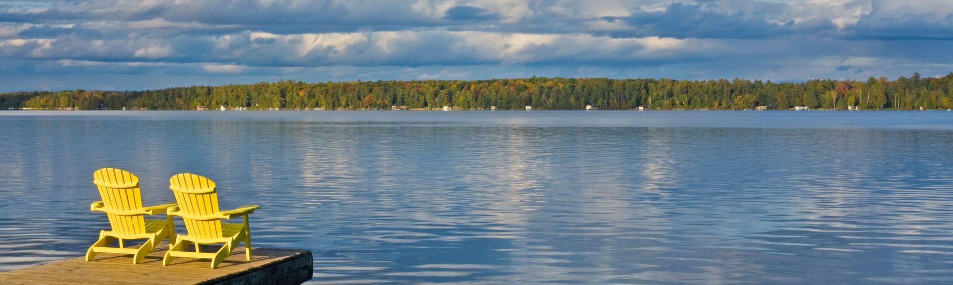 Balsam Lake, Kawartha Lakes, ON, Canada
