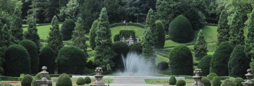 Villa Menafoglio Litta Panza e Collezione Panza, Varese, Lombardia, Italia