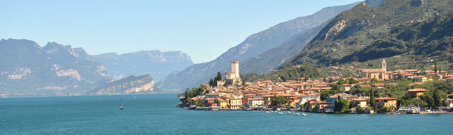 Gardola, Lombardiet, Italien