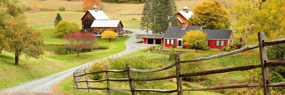 Village of Woodstock, Woodstock, Vermont, USA