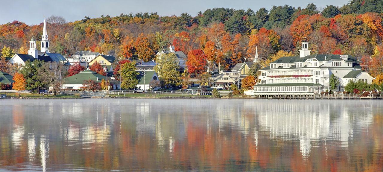 Lake Winnipesaukee, NH, USA