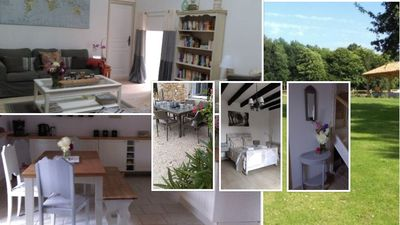 Photo for Beautifully renovated farmhouse set in 3 acres in peaceful hamlet setting