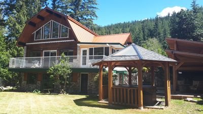 Photo for Beautiful Lakeview Vacation Home with Hot Tub -your gateway to the Shushwap