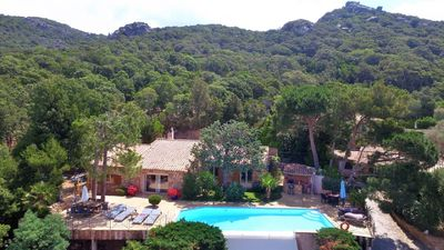 Photo for Villa in local stone, pool, stunning views ..., near the sea