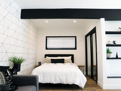 Photo for New Modern Stay - Steps from the BLVD Preview listing
