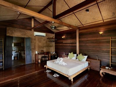 Photo for Luxury loft in stilted wooden longhouse
