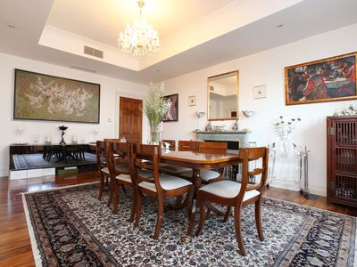 Photo for Spacious Four Bedroom Apartment moments from Sloane Square, Sleeps 10 (Veeve)