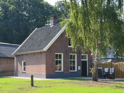 Photo for Detached authentic holiday home with view over the meadows of the Achterhoek