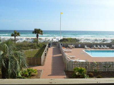 Photo for Gulf Front 2 Bedroom Secluded Gem!