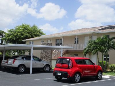 Photo for Marbella - 2 BR Ground Floor Unit on Gulf Access Canal