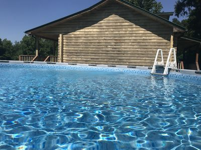 A large 26' pool will be for your private use and it's open now!