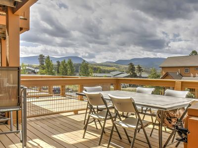 Photo for Fraser Townhome near Winter Park w/Balcony & Views
