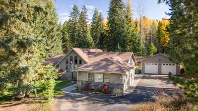 Photo for Lovely 3 bdrm 2 bath Whitefish Home with Large Private Backyard and Sun Room