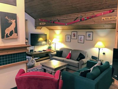Photo for Luxury ski-in, ski-out apartment in Les Arcs 1950, sleeping up to 10