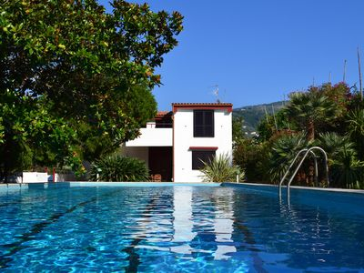 Photo for Villa Aurora - Sorrento coast with magnificent view on the Gulf of Naples