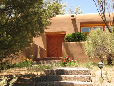 Photo for Stylish Mountain Retreat with Pool--Close to Santa Fe, Opera, Adventure!