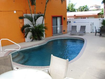Seaside Villas garden apartment - located in Siesta Key Village a short walk from Crescent Beach on Siesta Key Florida
