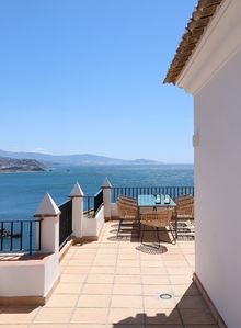 Photo for Drink your morning coffee with the most beautiful views of the Mediterranean