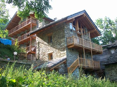 Photo for Fontainemore: CHALET WALSER STONE VISTA