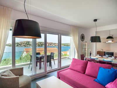Photo for Villa only 1 minut from the sea,  with private pool and Stunning Sea View****