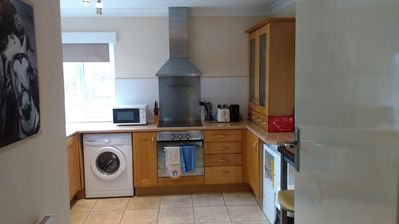 Photo for Large one bed apartment close to seafront -Quiet location - sleeps 4