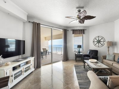 Photo for Stunning Gulf Views from this 4th-Floor, 3-Bedroom Condo.