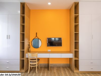 Photo for Ourhouse-F4-1BR,2beds-2m walk to the beach-Danang