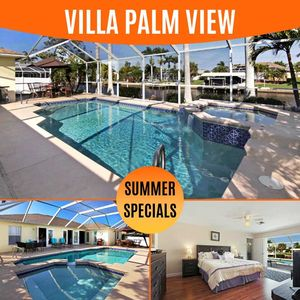 Photo for 38% OFF! -SWFL Rentals - Villa Palm View - Peaceful Canal Home Sleeps 6+2