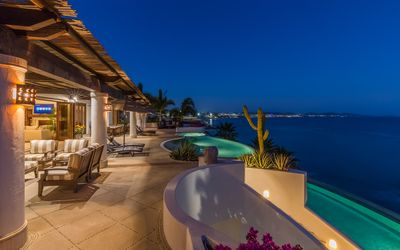 Photo for Extraordinary ocean front home with direct access to the beach