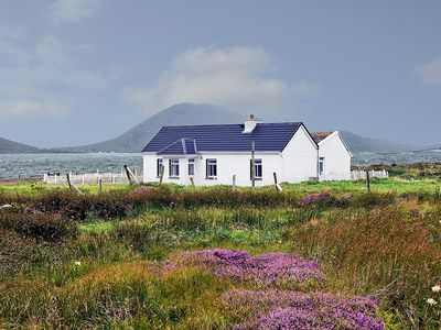 Photo for Detached farmhouse, quiet and secluded on a peninsula right beside Blacksod Bay with all round…