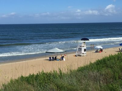 Photo for Oceanfront completely renovated duplex with 4 bedrooms and large hot tub